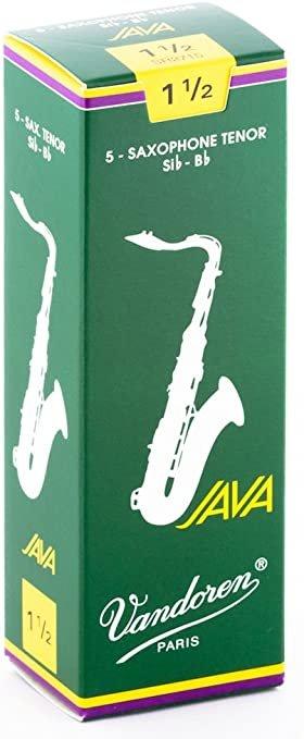 Vandoren Java Tenor Saxophone Reeds, Box of 5