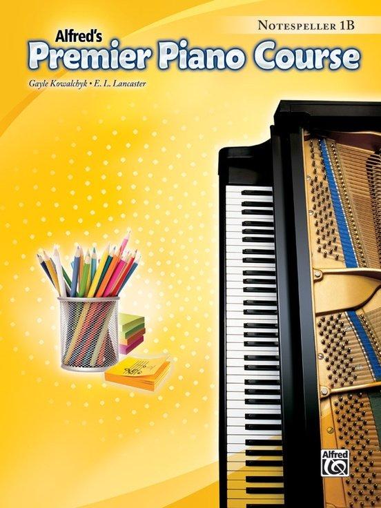 Alfred's Premier Piano Course, Notespeller 1B