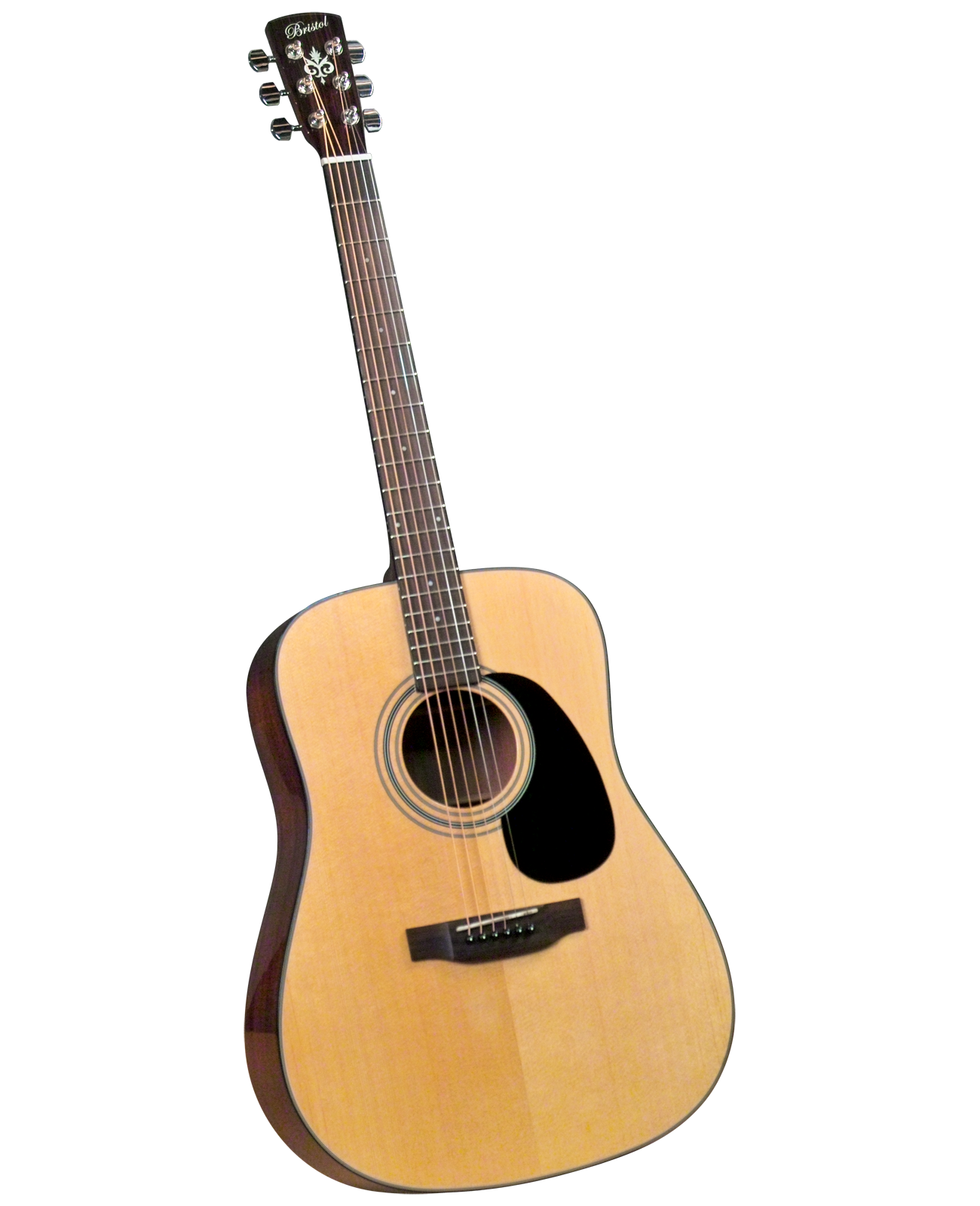 Bristol BD-16 Dreadnought Acoustic Guitar w/ Gig Bag