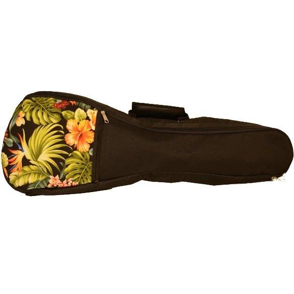 Kala UB-FL-T Padded Tenor Ukulele Bag Floral Hawaiian Accent