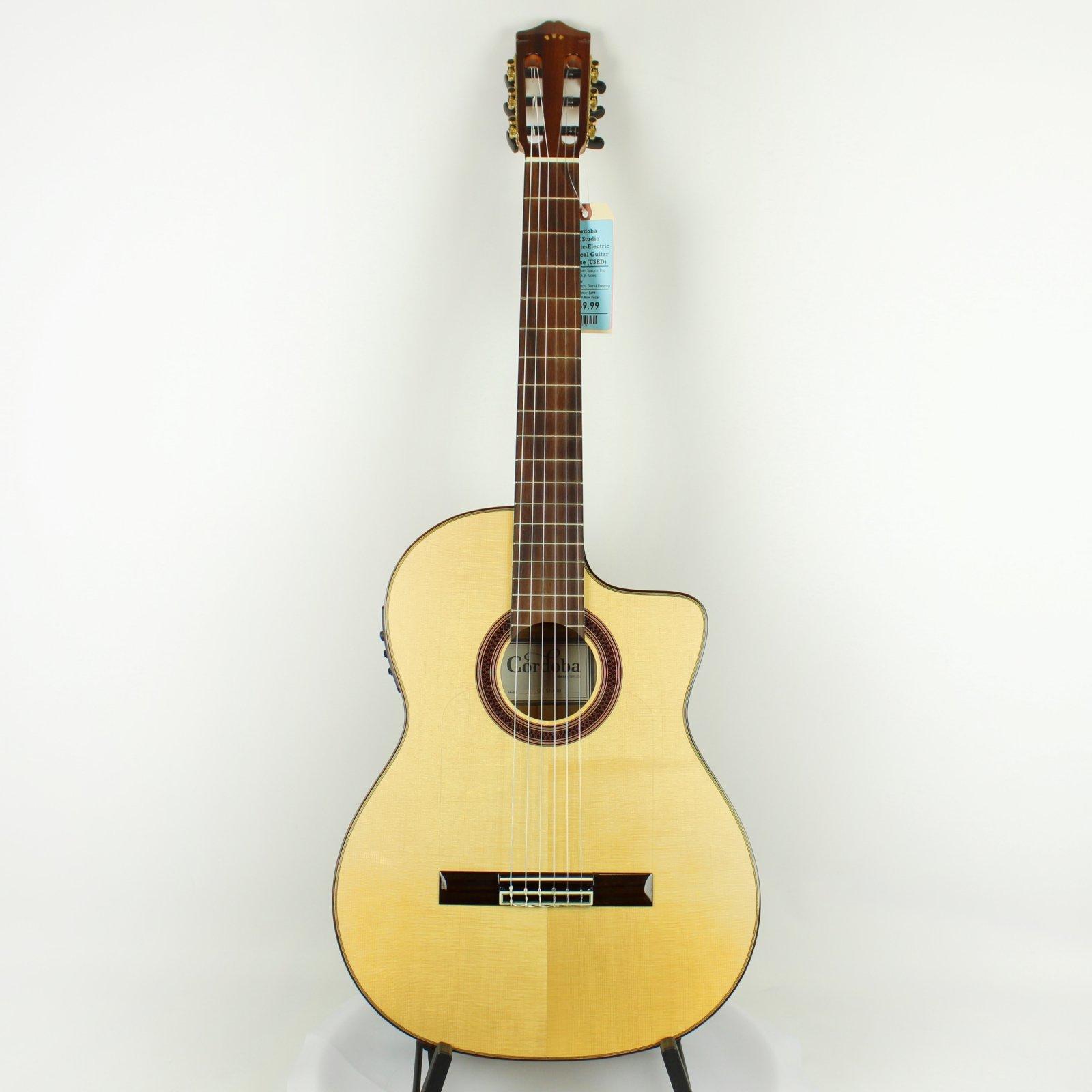 Cordoba Iberia Series GK Studio Acoustic-Electric Cutaway Classical Guitar w/ Gig-Bag (USED)