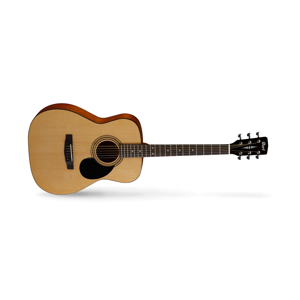 Cort Standard Series AF510 OP Acoustic Guitar, Open Pore