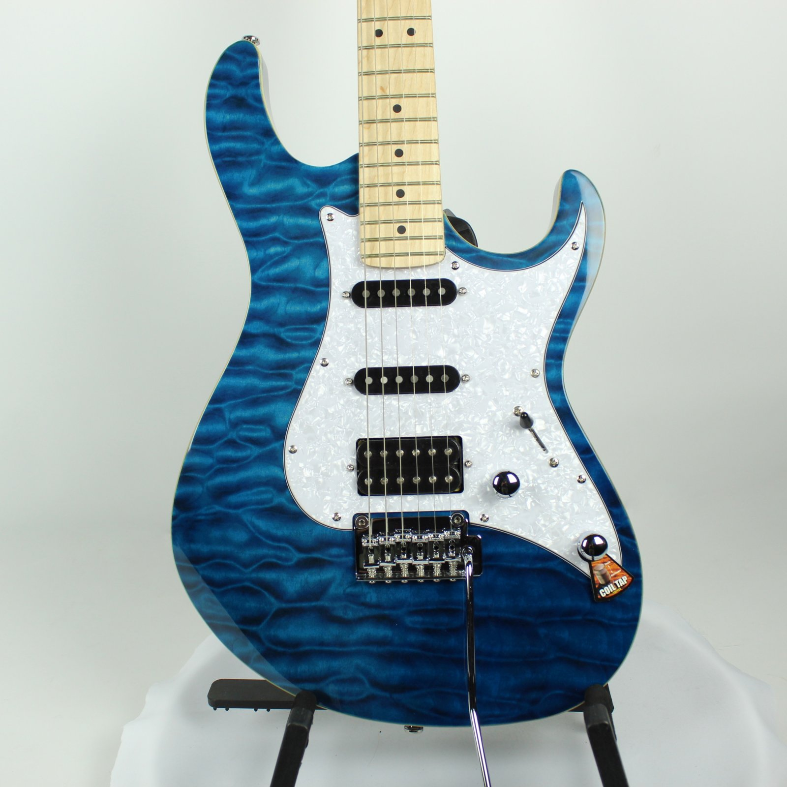 AMERICAN BASSWOOD BODY WITH QUILTED MAPLE TOP