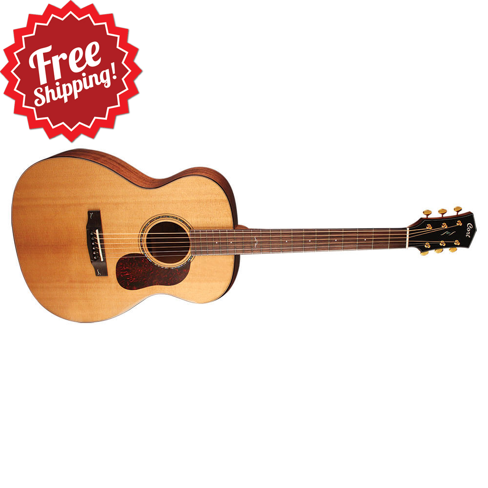 Cort Gold Series O6 NAT Orchestra Acoustic Guitar, Natural