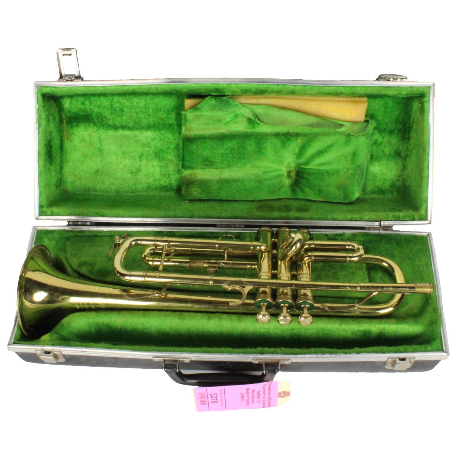 Vintage Couesnon Lafayette Trumpet w/ Case and Getzen 7C Mouthpiece (USED)