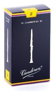 Vandoren Traditional Bb Clarinet Reeds, 10-Pack