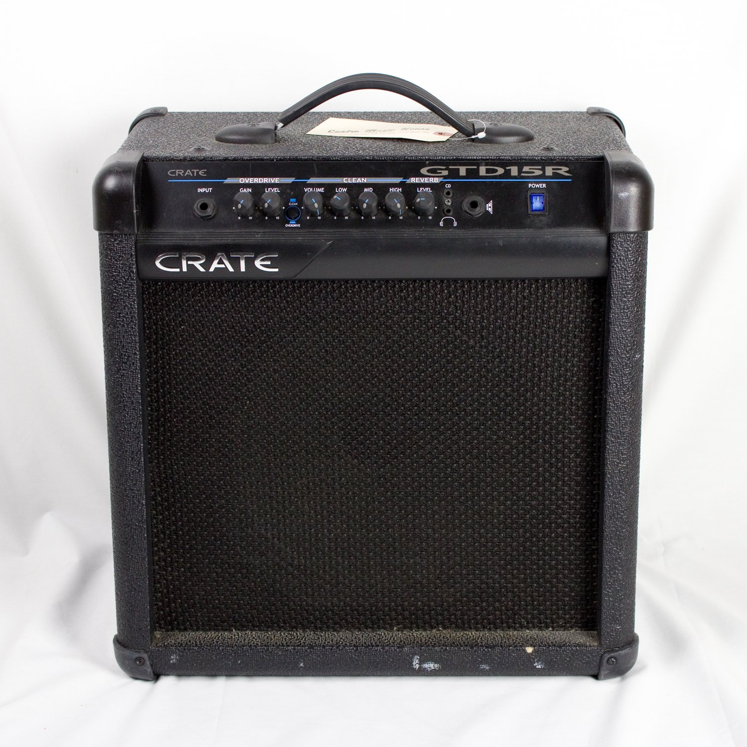 Crate GTD15R Guitar Amplifier (USED)