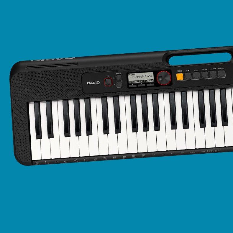 Casio Casiotone CT-S200 61-Key Portable Digital Keyboard, Black