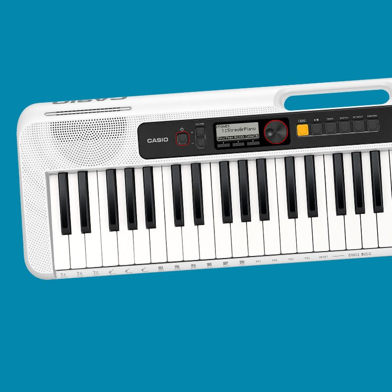 Casio Casiotone CT-S200 61-Key Portable Digital Keyboard, White