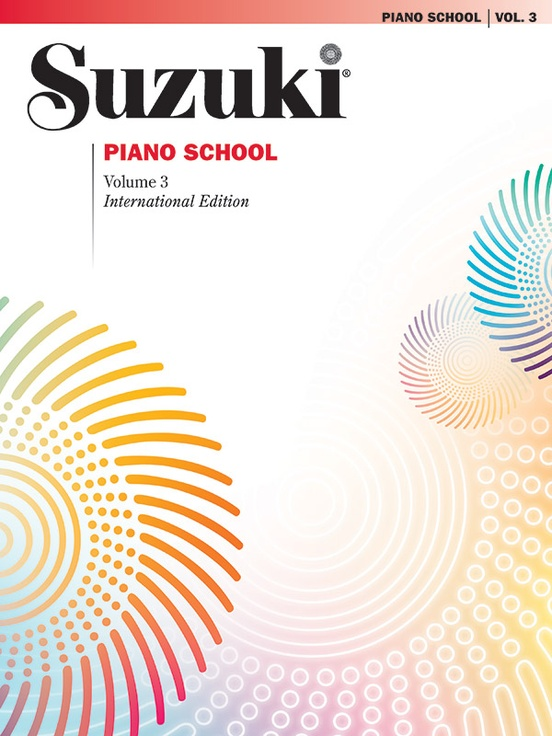 Suzuki Piano School International Edition Piano Book, Volume 3
