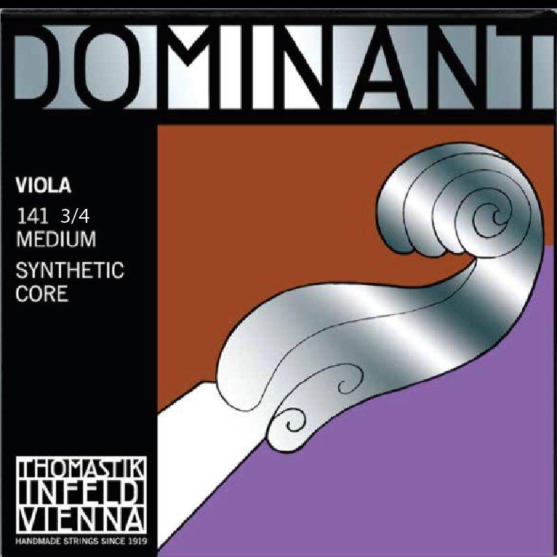 Thomastik-Infeld Dominant 141 3/4 Viola Strings, 13 1/2, Medium, 136-139