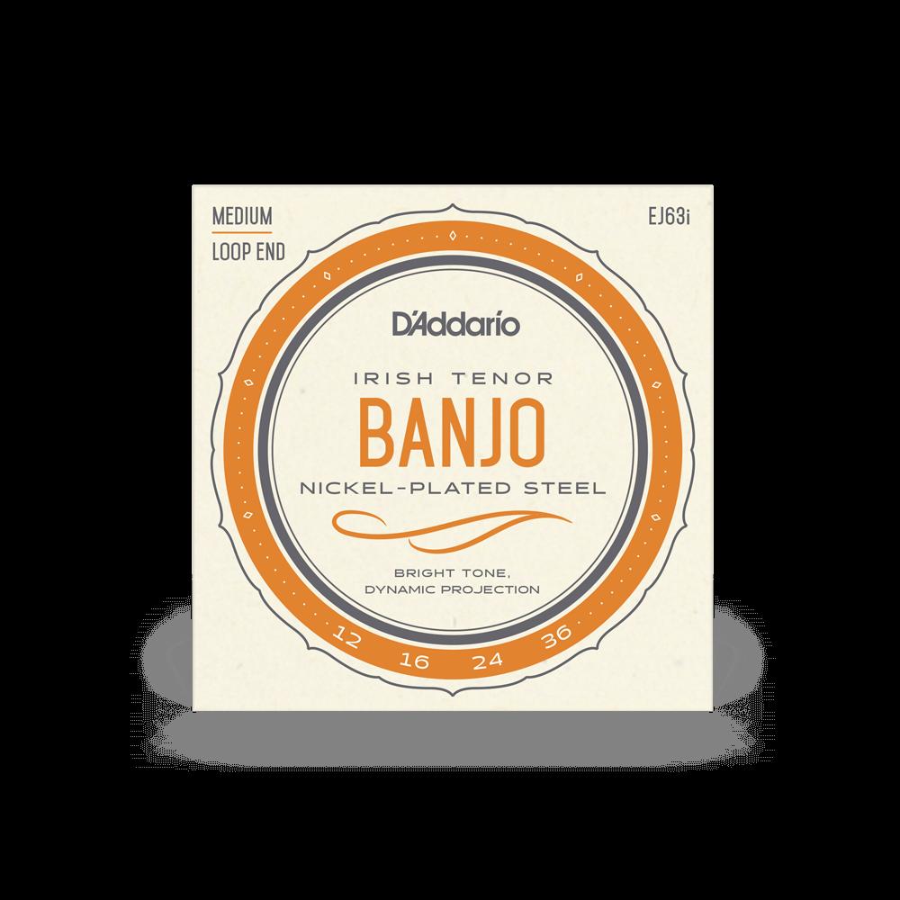 D'Addario EJ63i Irish Tenor Banjo Strings, 12-36