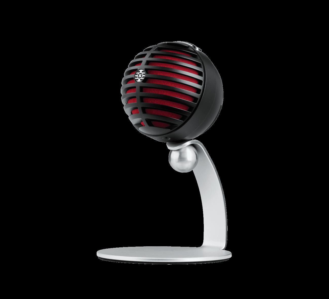 Shure MV5 Digital USB Condenser Microphone, Black