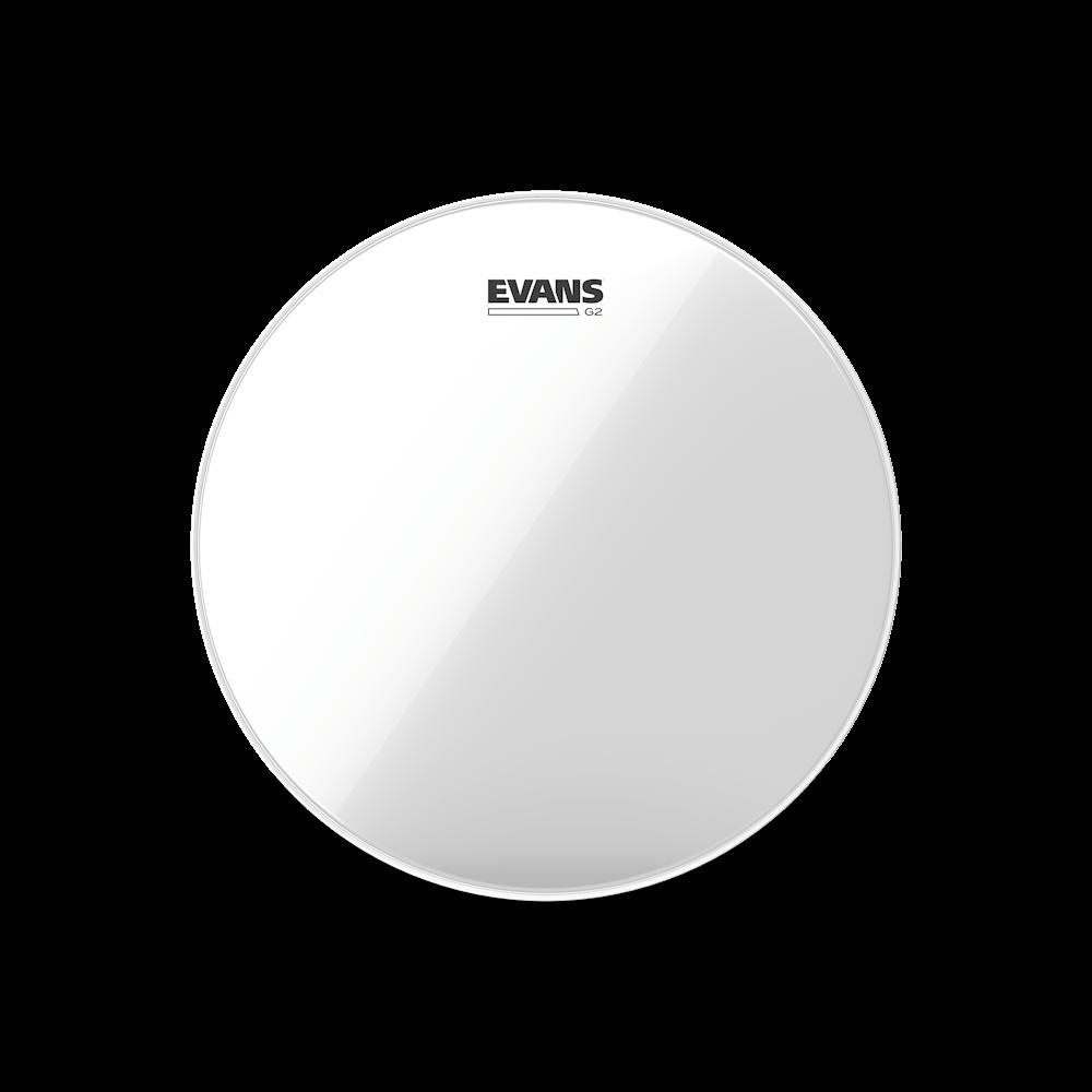 Evans G2 Clear Drumhead, Various Sizes
