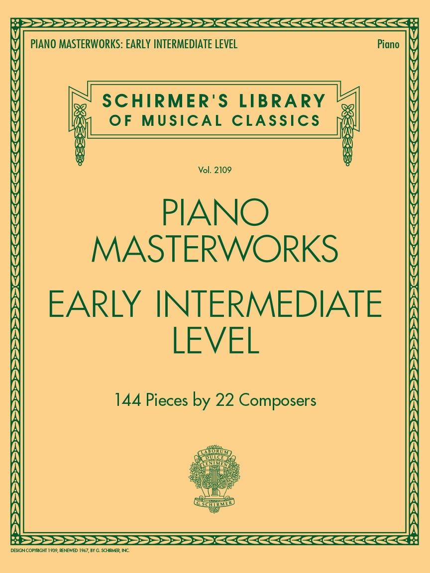 Piano Masterworks - Early Intermediate Level (6)