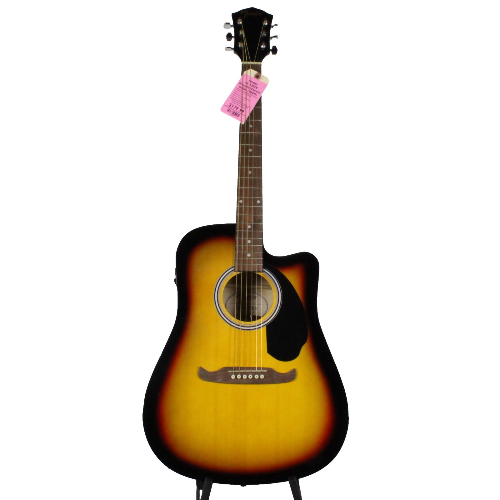 Fender FA-125CE Acoustic-Electric Guitar (USED)