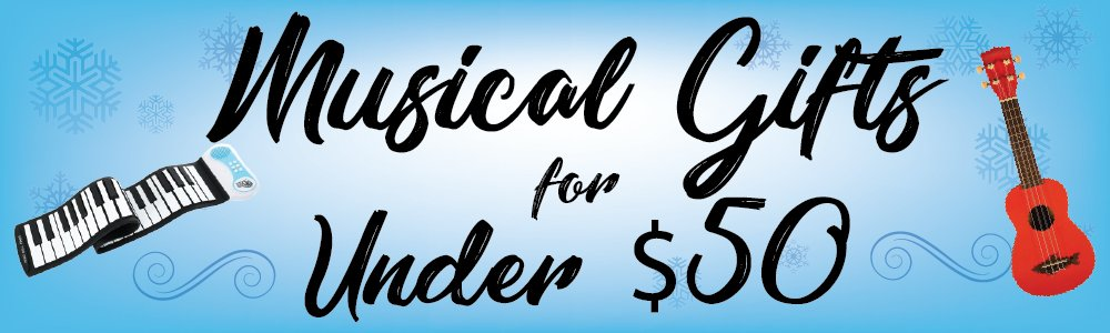 Musical Gifts for Under 50