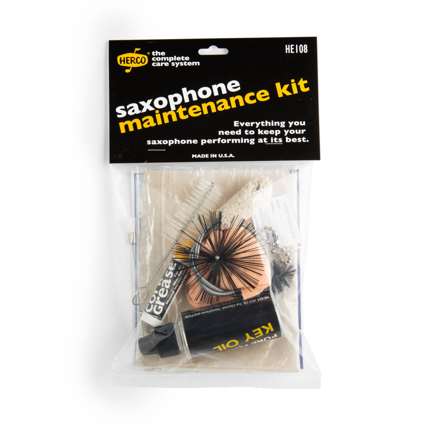 Herco HE108 Saxophone Maintenance Kit