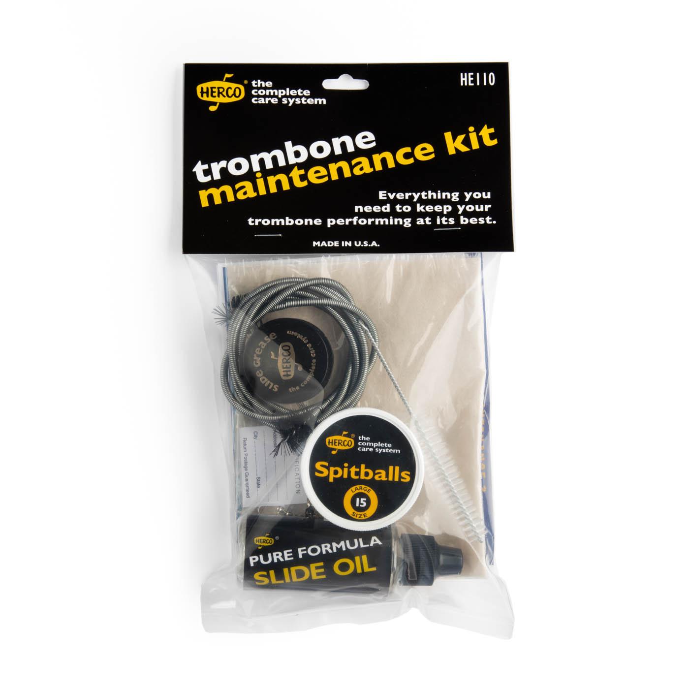 Herco HE110 Trombone Maintenance Kit