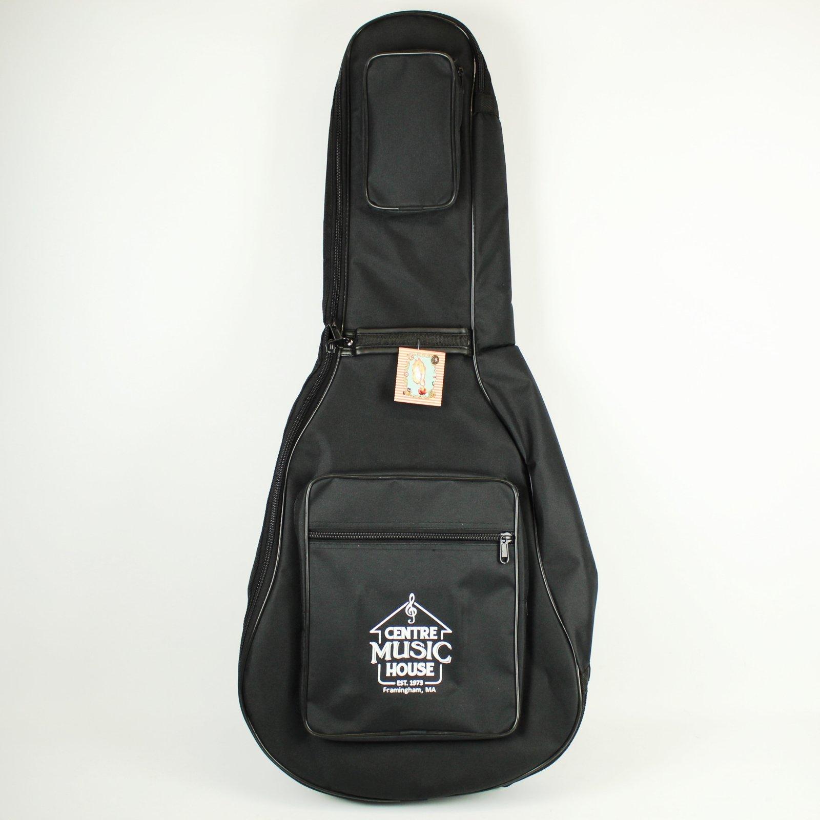 Henry Heller Deluxe Jumbo Acoustic Guitar Gig Bag w/ CMH Logo