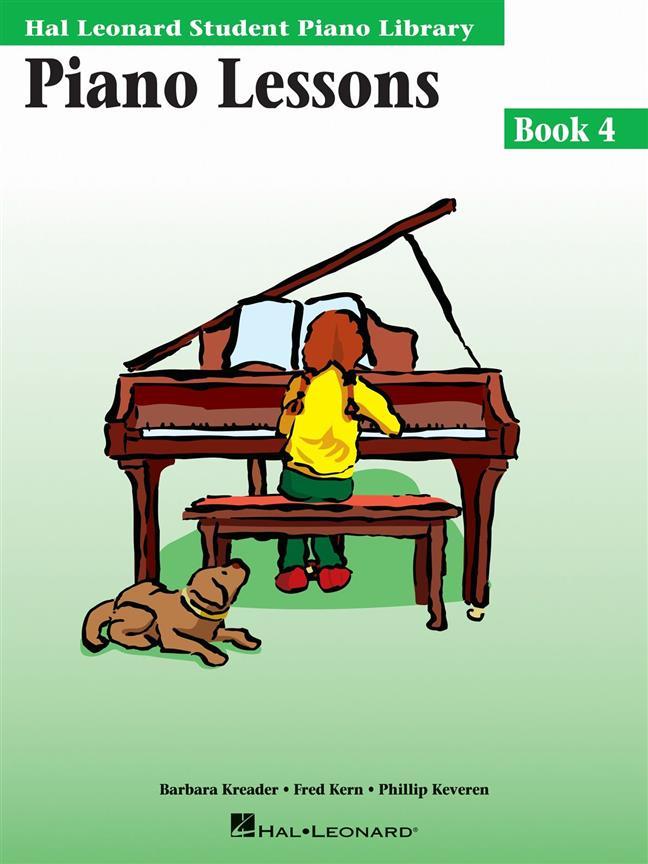 Hal Leonard Student Piano Library, Piano Lessons Book 4