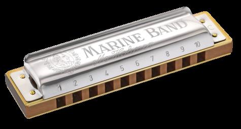 Hohner Marine Band 1896 Classic Diatonic Harmonica