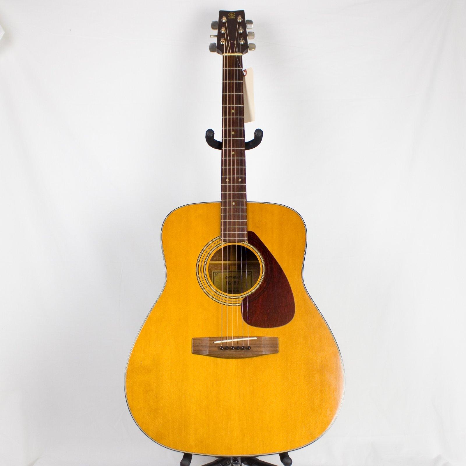 Vintage Yamaha FG-160 Acoustic Guitar w/ Original Case, 1974