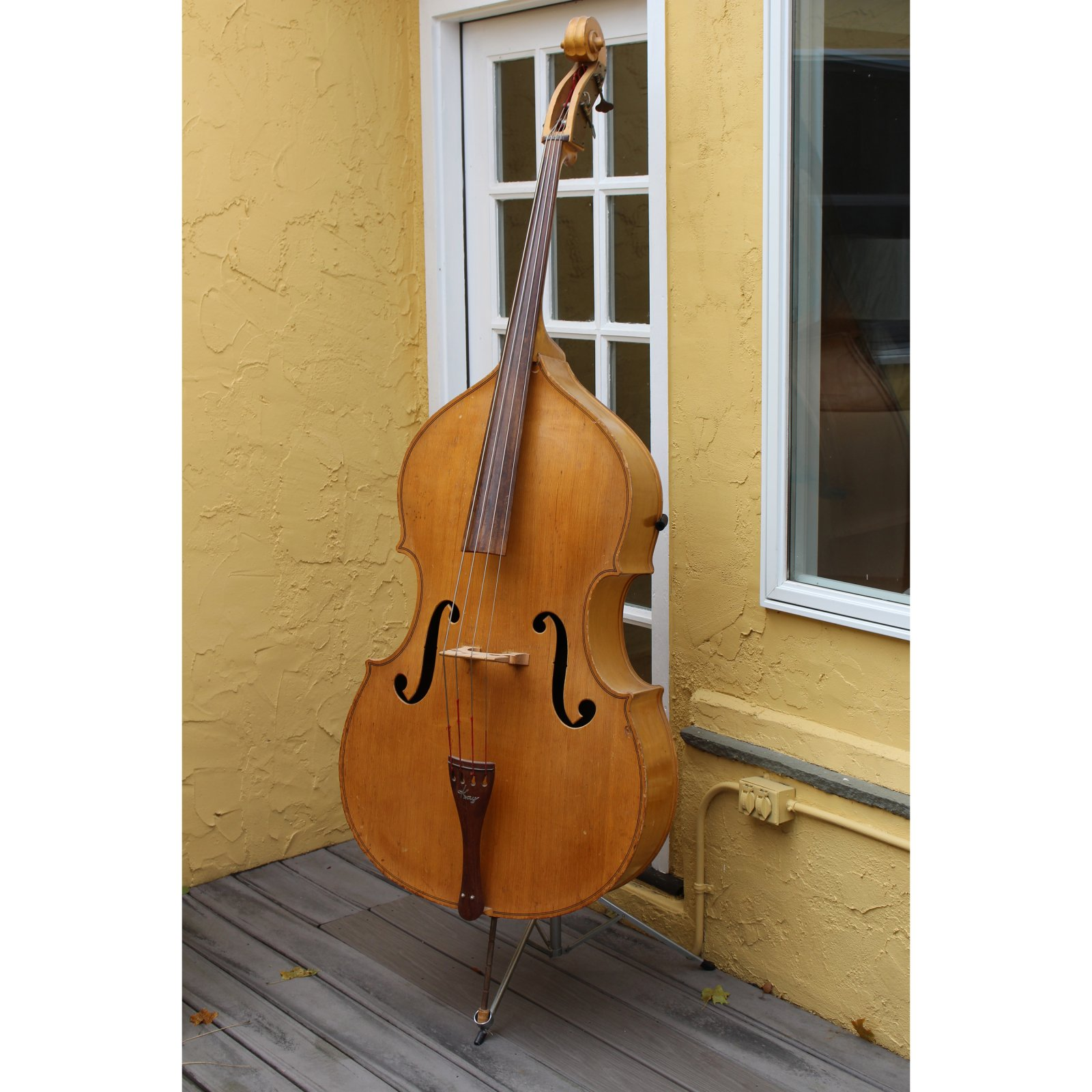 Vintage 1954 Kay M-1B Upright Bass