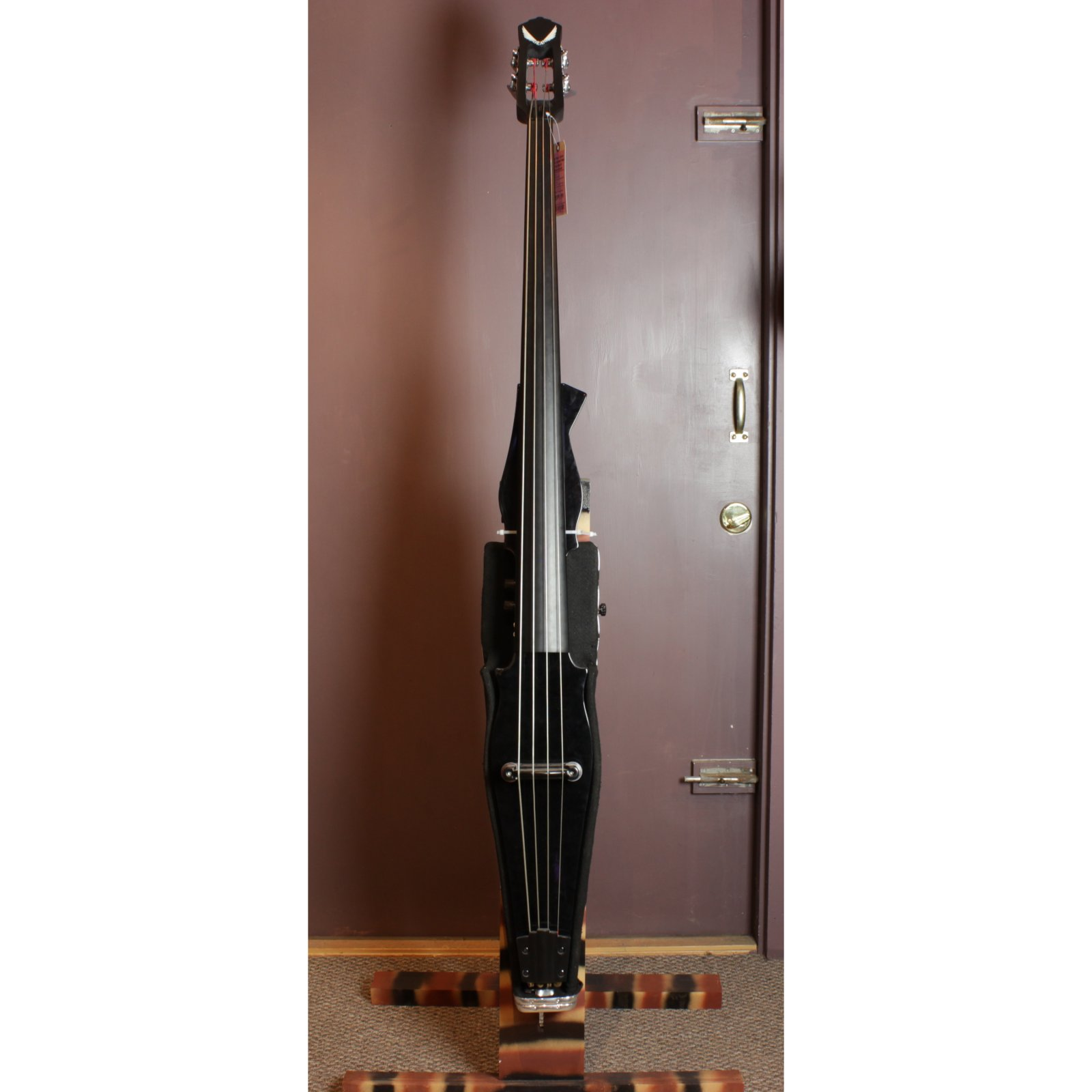 Dean Pace Contra Bass Upright Electric Bass, w/Gig Bag & Custom Stand, Classic Black (USED)