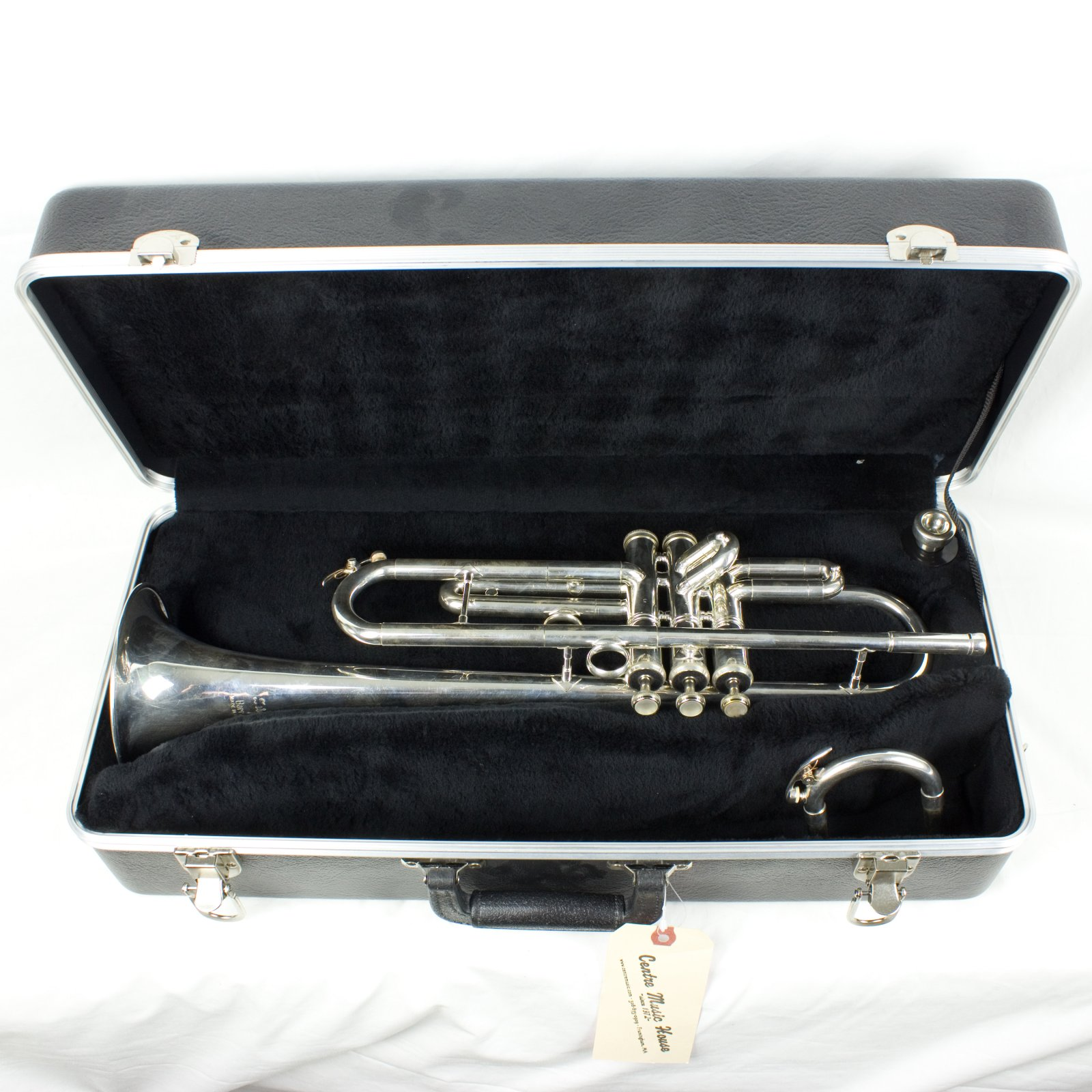 Barratts Soloist C/Bb Convertible Trumpet, Silver Plated, w/ Case (USED)