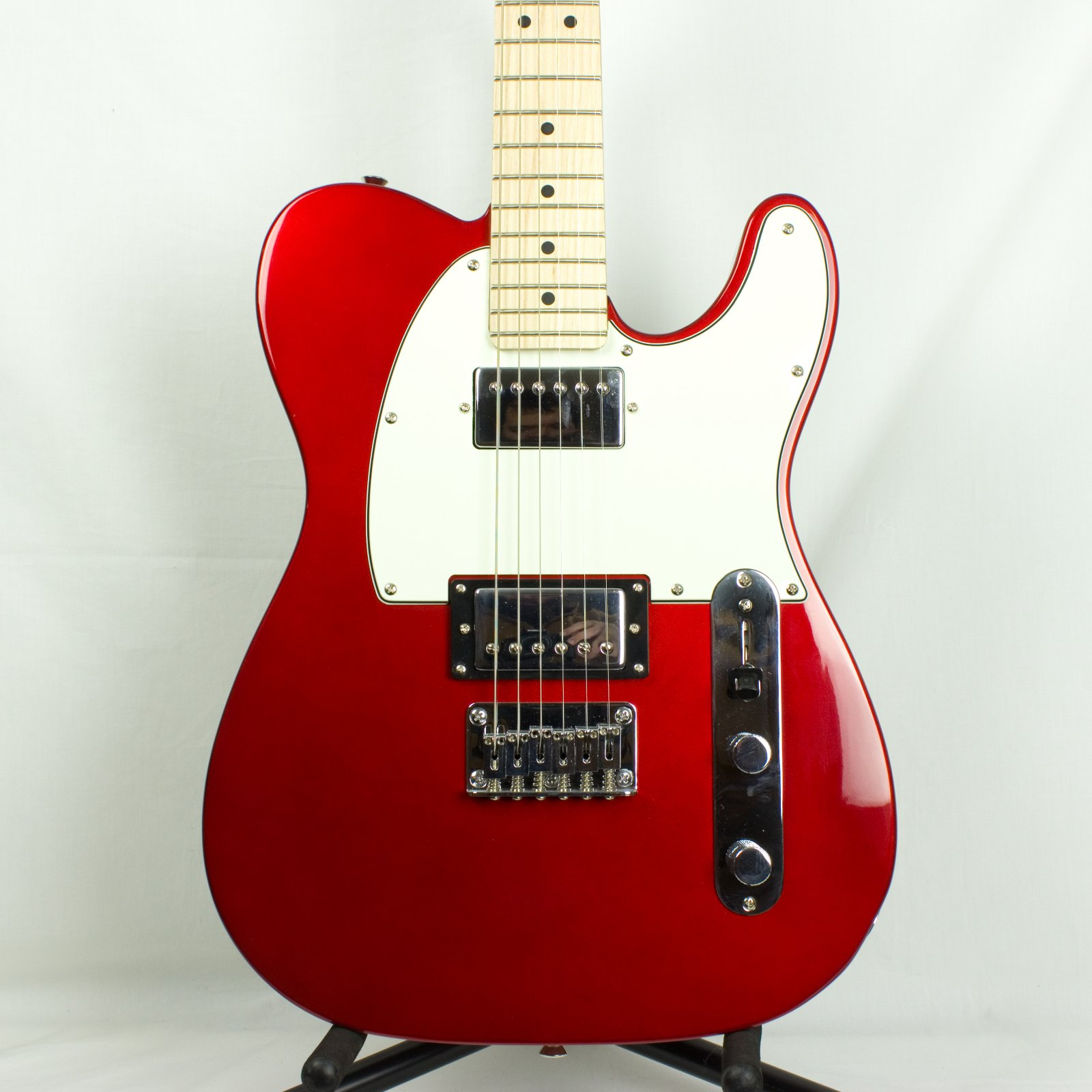 Squier Contemporary Telecaster HH, Dark Metallic Red (USED)