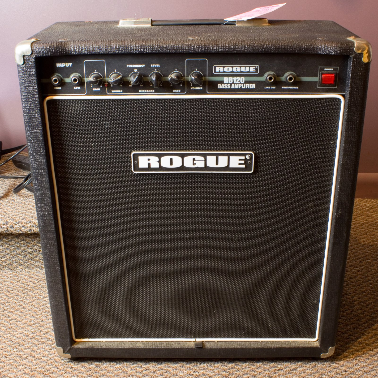 Rogue RB-120 Bass Guitar Combo Amp (USED)
