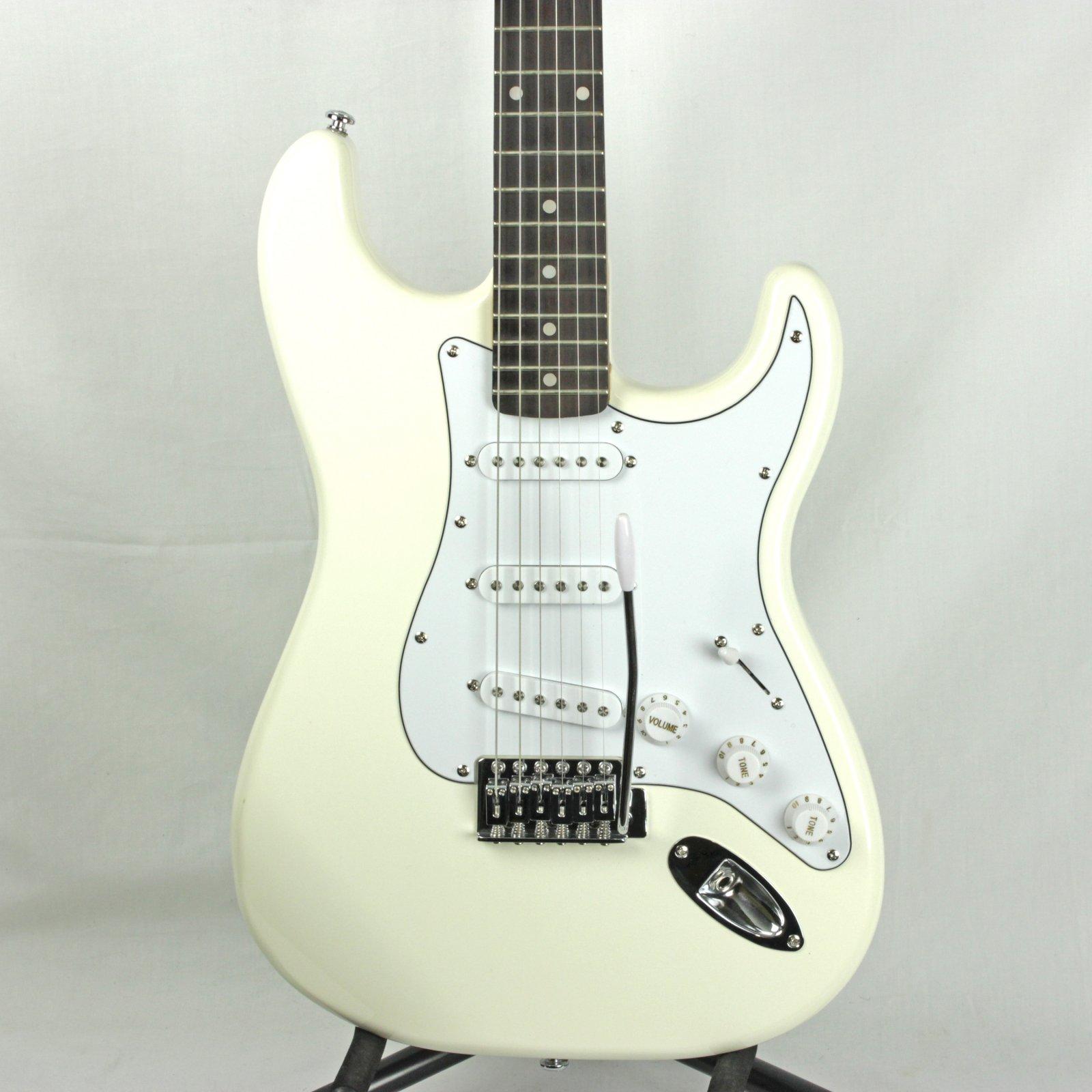 Silvertone Revolver SS15 Electric Guitar, Cream (USED)