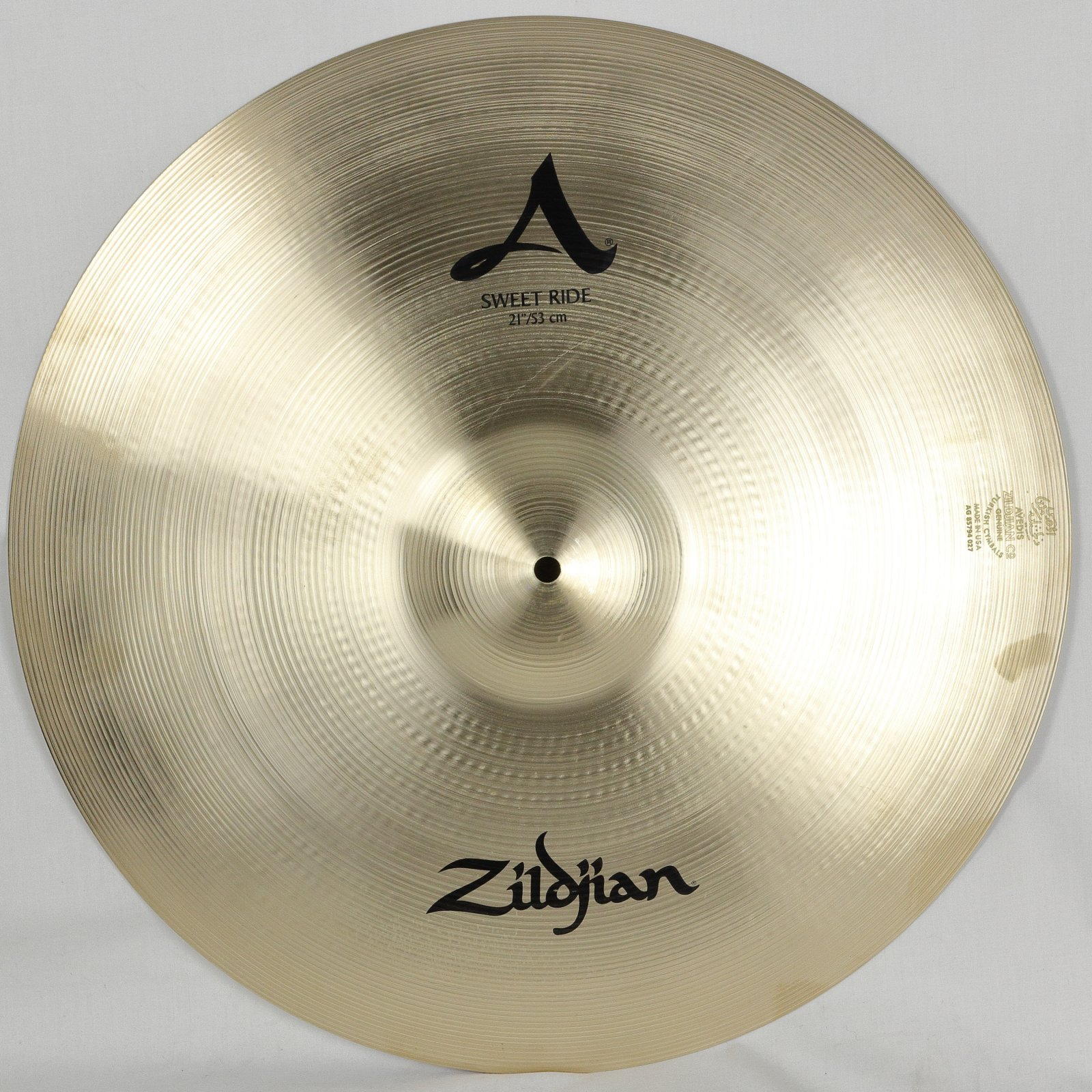 Zildjian A Series Sweet Ride Cymbal 21 (USED)