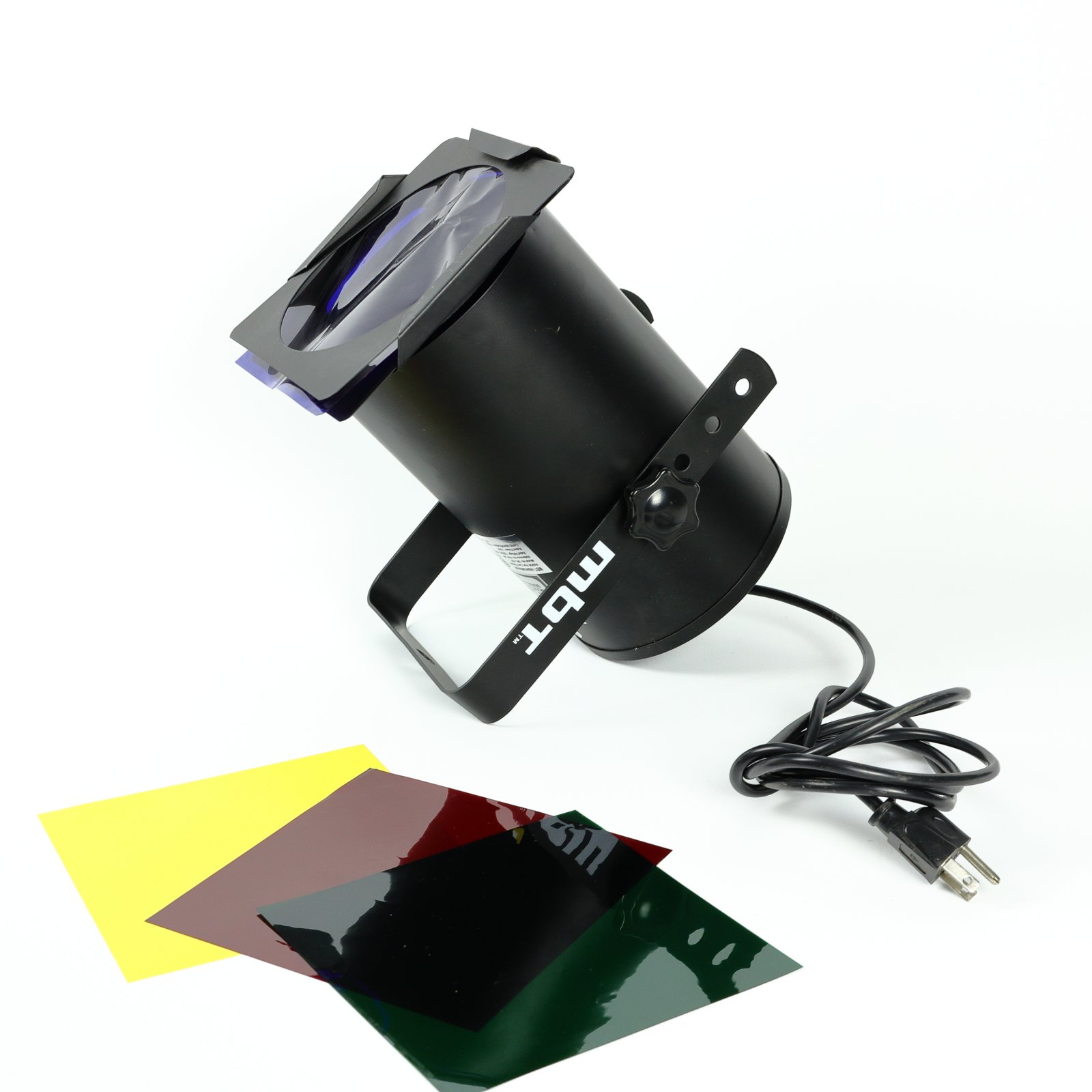 MBT Lighting PAR38SKIT Par Can Kit PR38S, Black (USED)