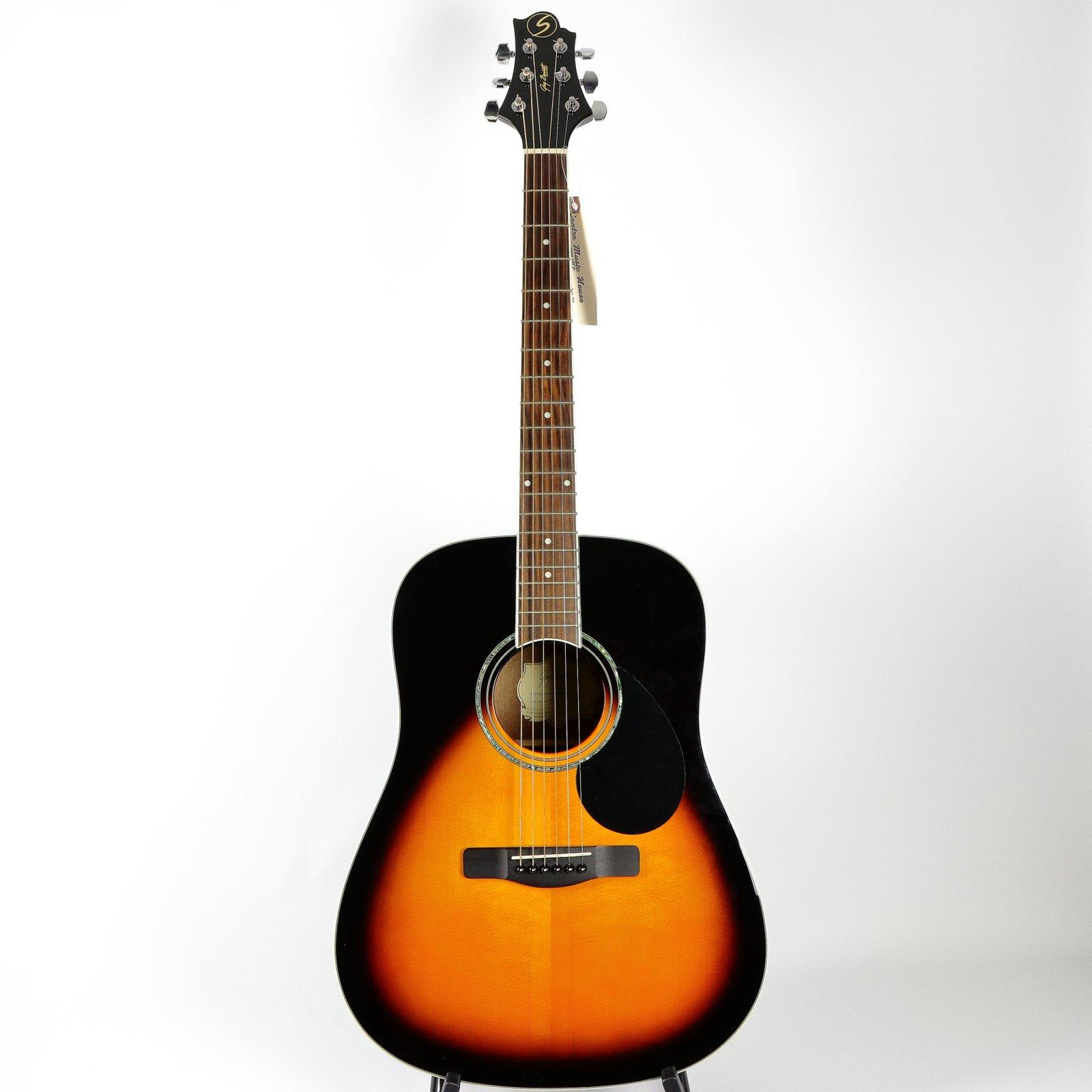 Greg Bennett GD-100S/VS Acoustic Guitar, Vintage Sunburst (USED)