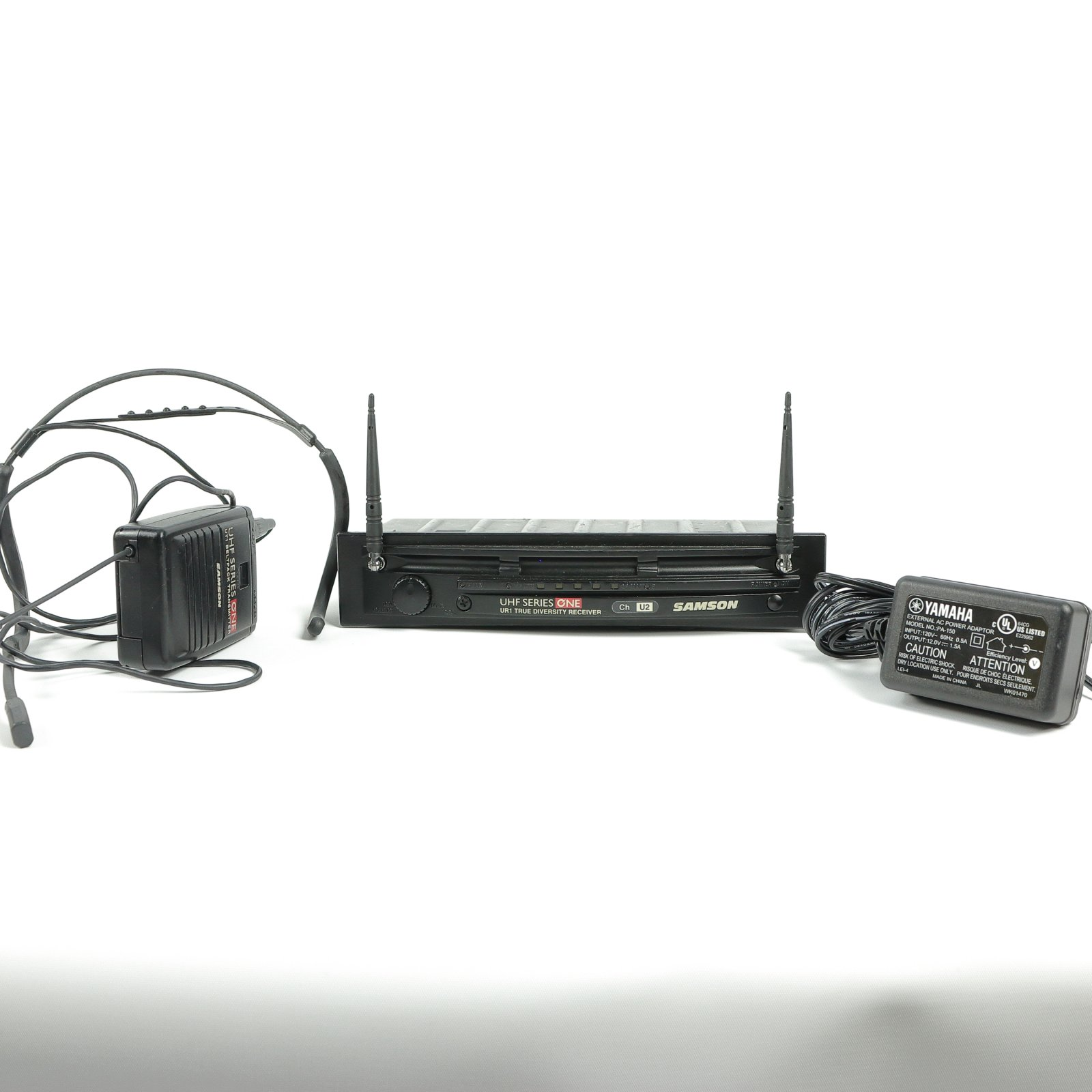 Samson UHF Series One Wireless Headset Mic and Receiver (USED)