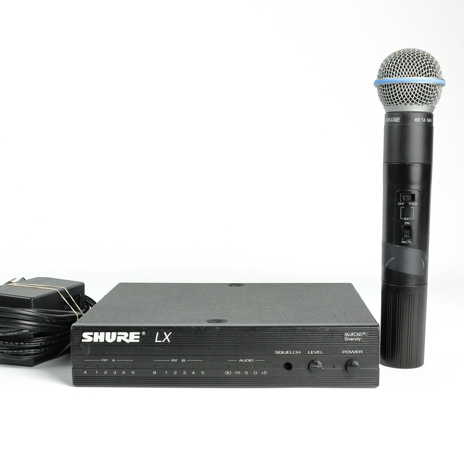Shure LX Wireless Microphone System w/ Beta 58A (USED)