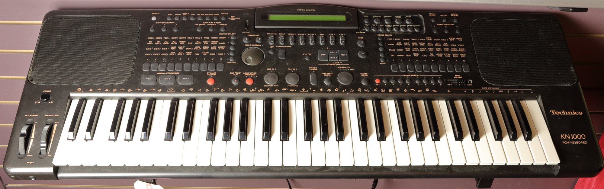 Technics KN1000 PCM Keyboard (USED)