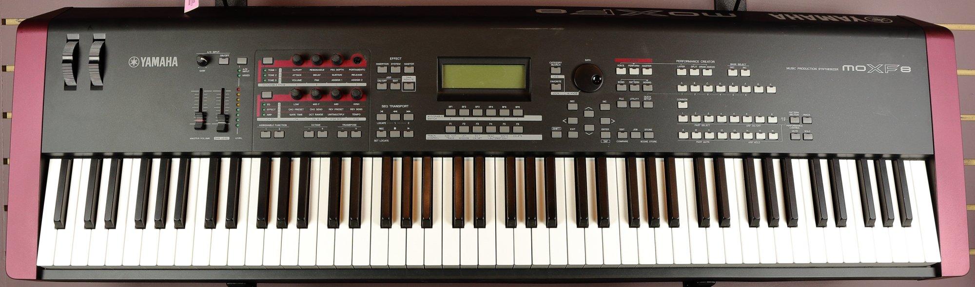 Yamaha MOXF8 88-Key Synthesizer Music Production Workstation (USED)