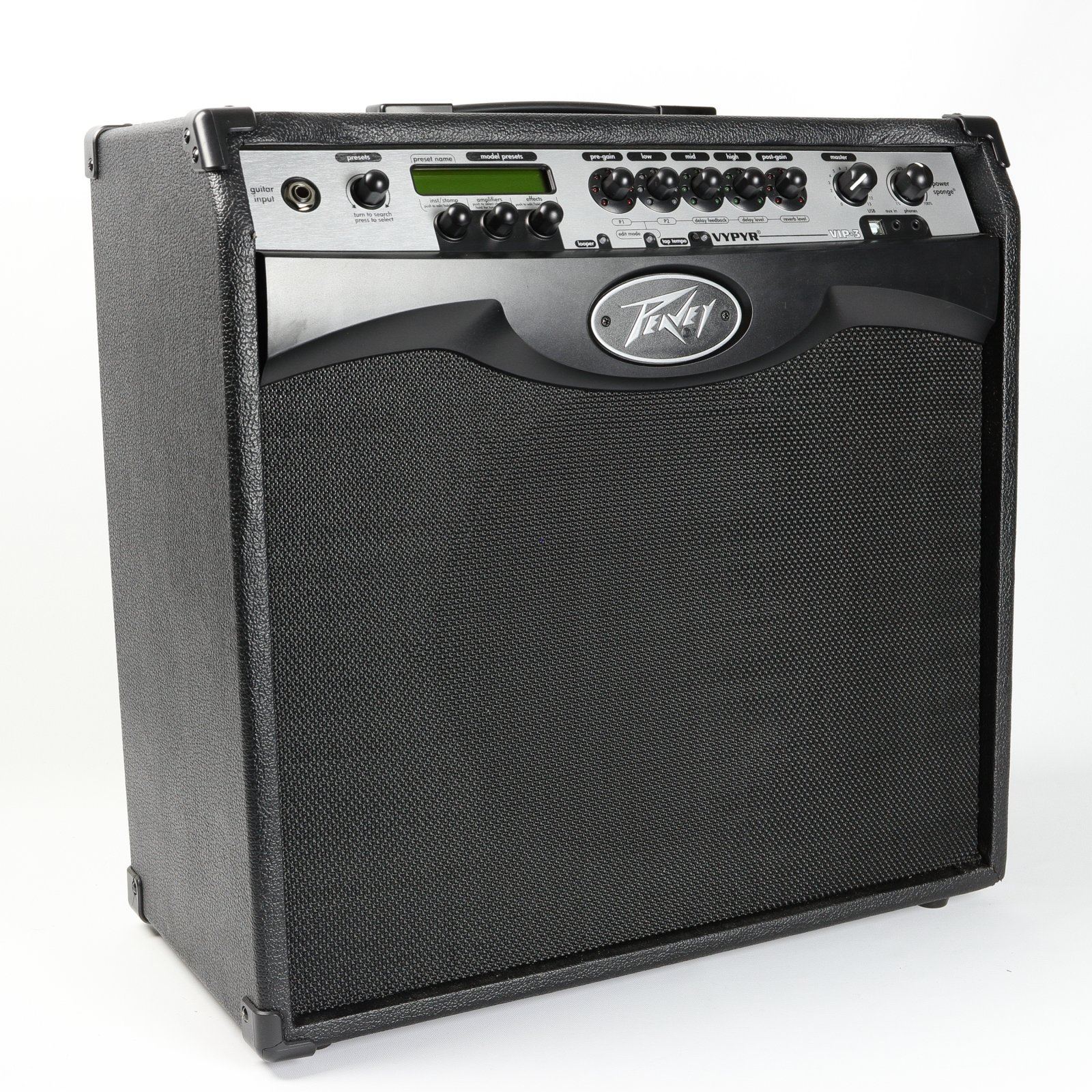Peavey Vypyr VIP 3 Guitar Modeling Combo Amplifier, 100W, 1x12 (USED)