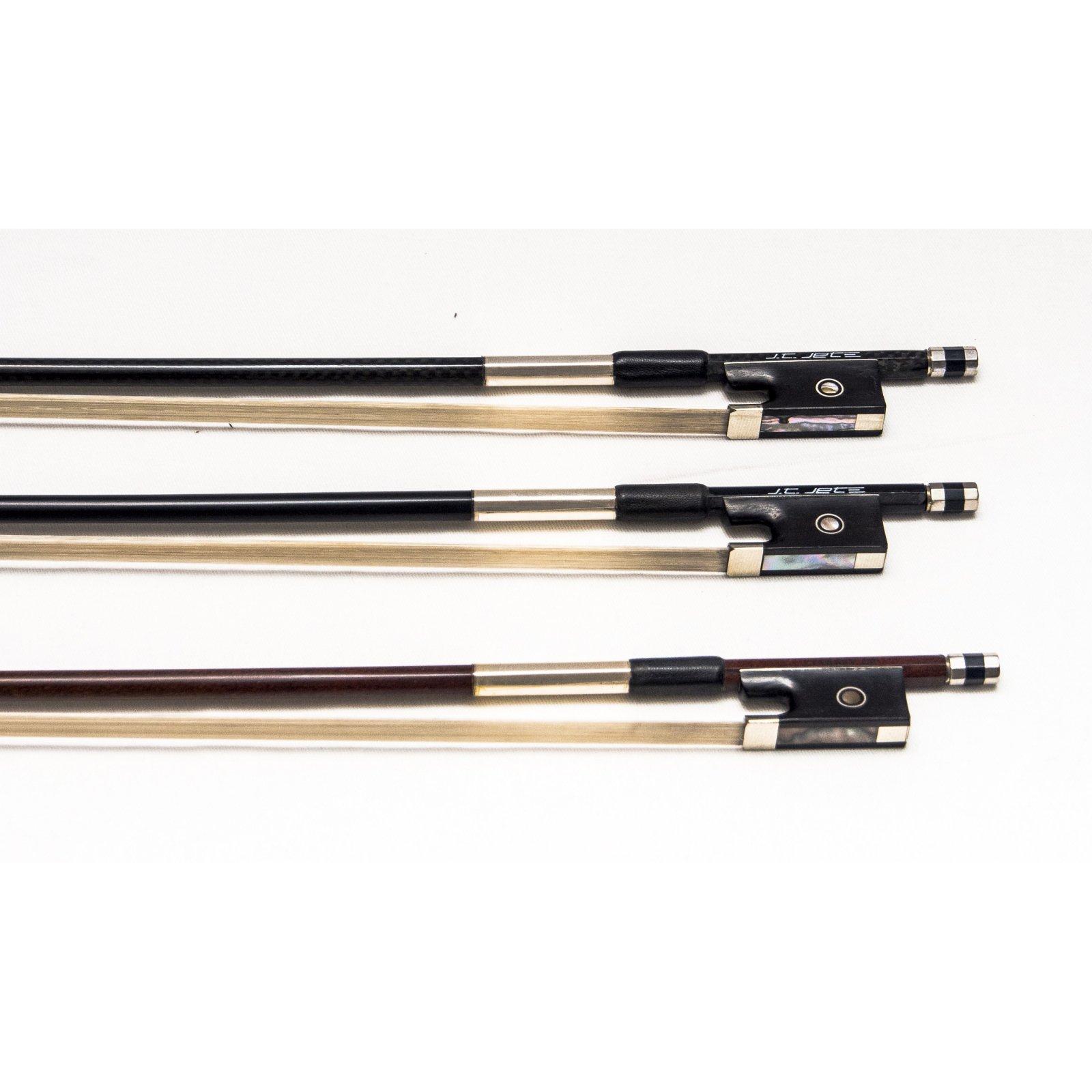 J.T. Jet Deluxe Carbon Fiber Violin Bow, 4/4 (Special Order)