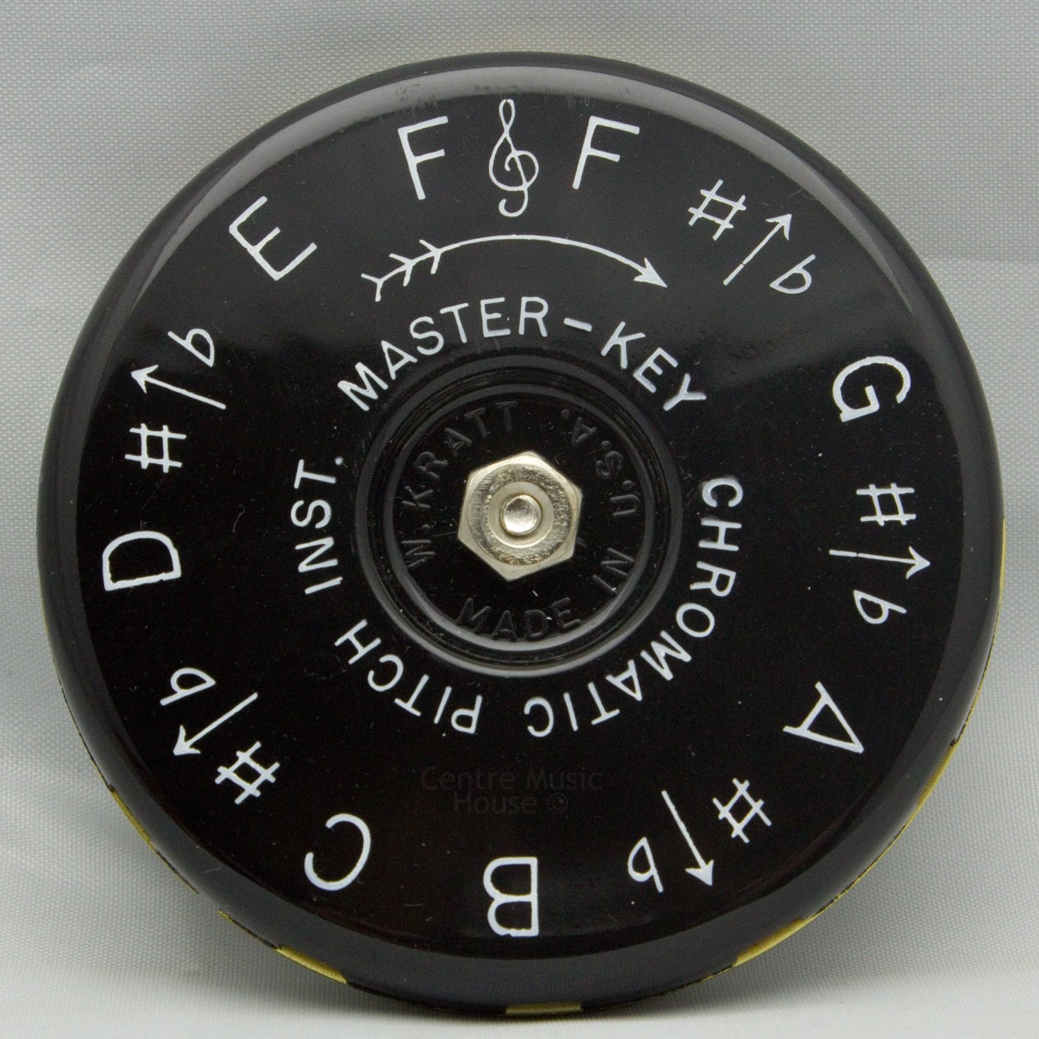 Kratt MK1 Master Key Chromatic Pitch Pipe (F to F)