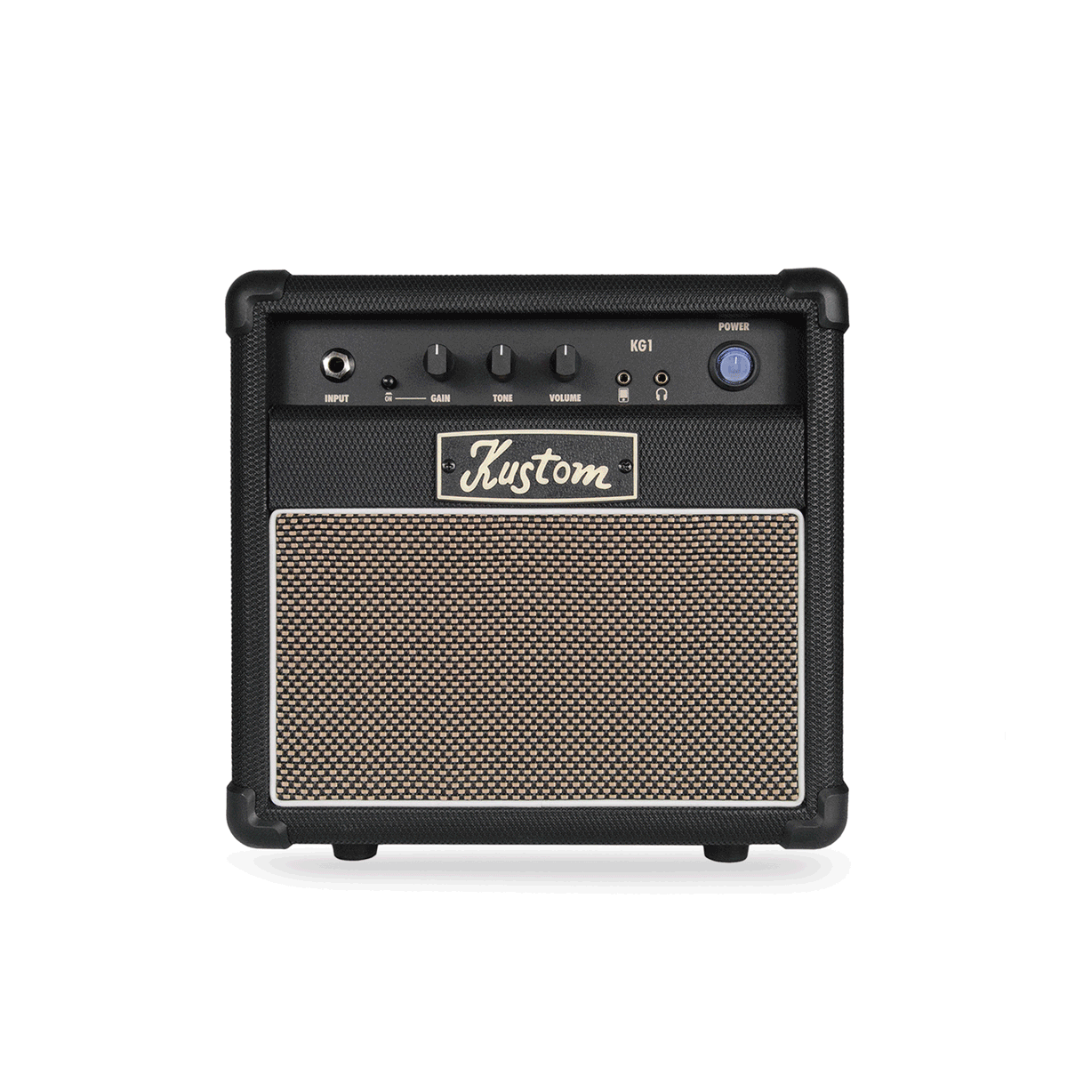 Kustom KG1 10-Watt 1 x 6 Guitar Combo w/ Gain Switch Aux In and Headphone Out