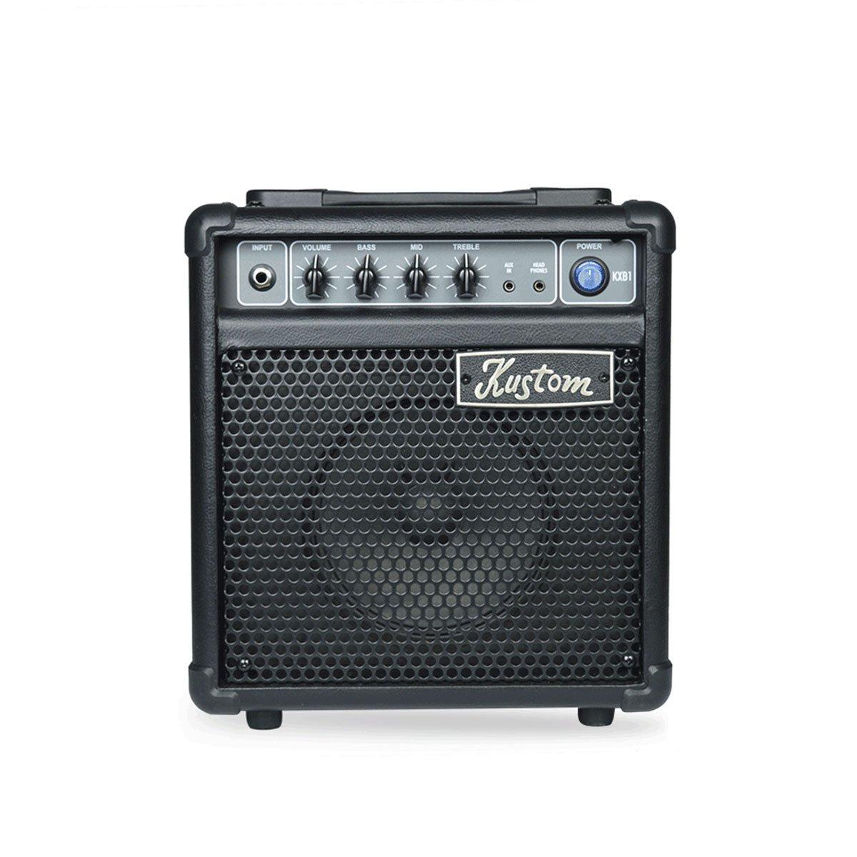 Kustom KXB1 10-Watt 1 x 6 Bass Combo w/ 3-band EQ Aux In and Headphone Out