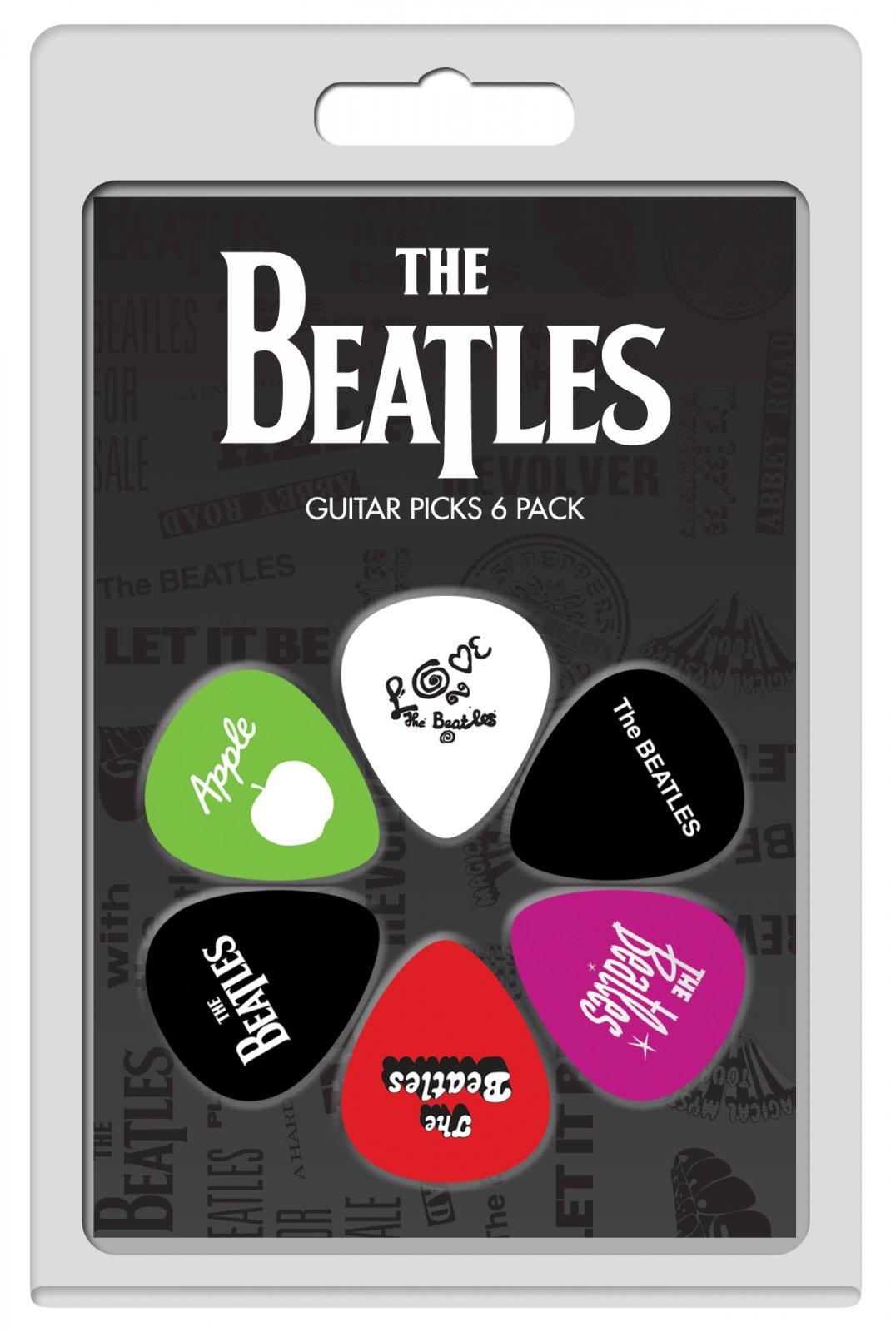 Perri's LP-TB4 The Beatles Guitar Picks, 6 pack
