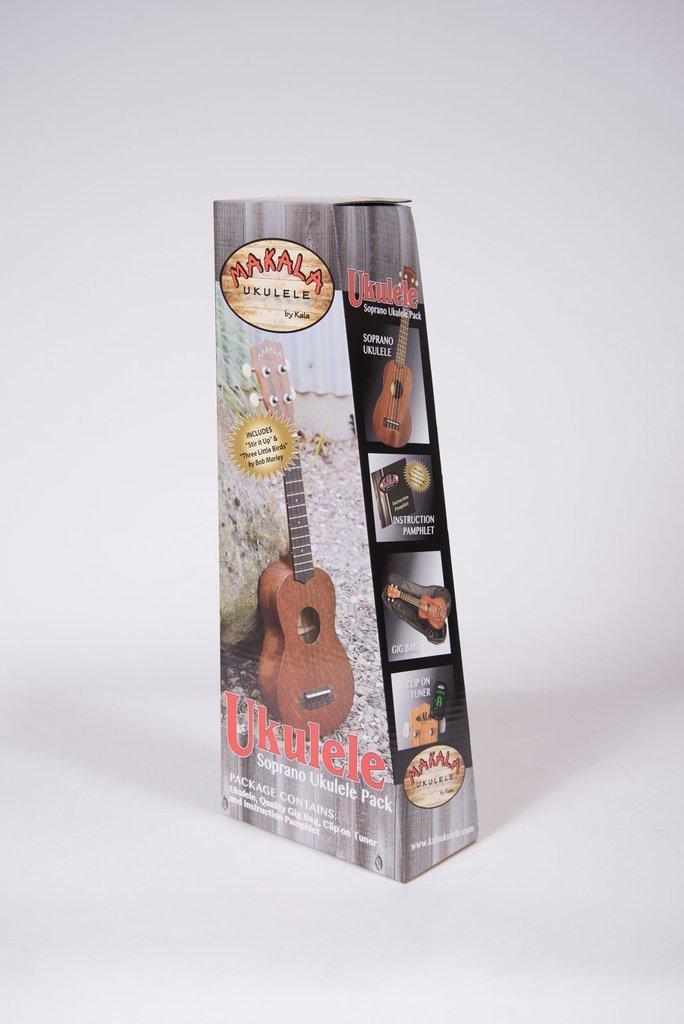 Makala Classic MK-S/PACK Soprano Ukulele Package w/Case and Tuner