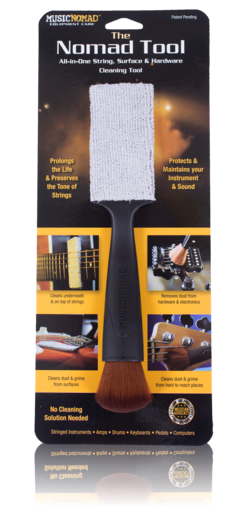 Music Nomad Tool - All in 1 String, Body & Hardware Cleaning Tool