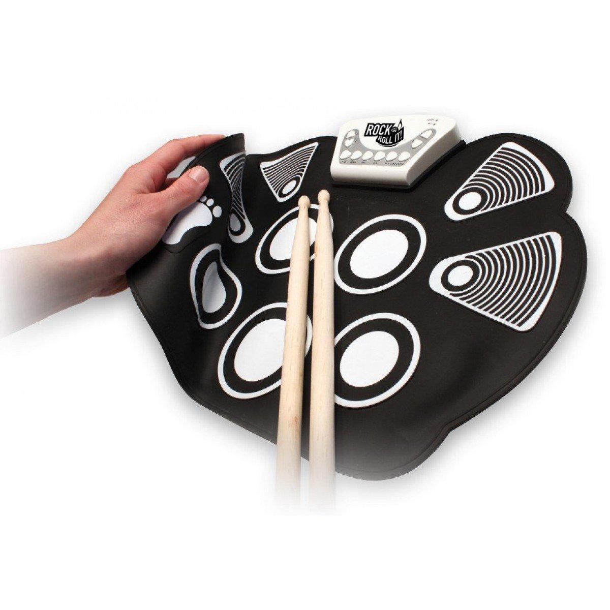 Mukikim Rock & Roll It Flexible Roll-up Drum Kit