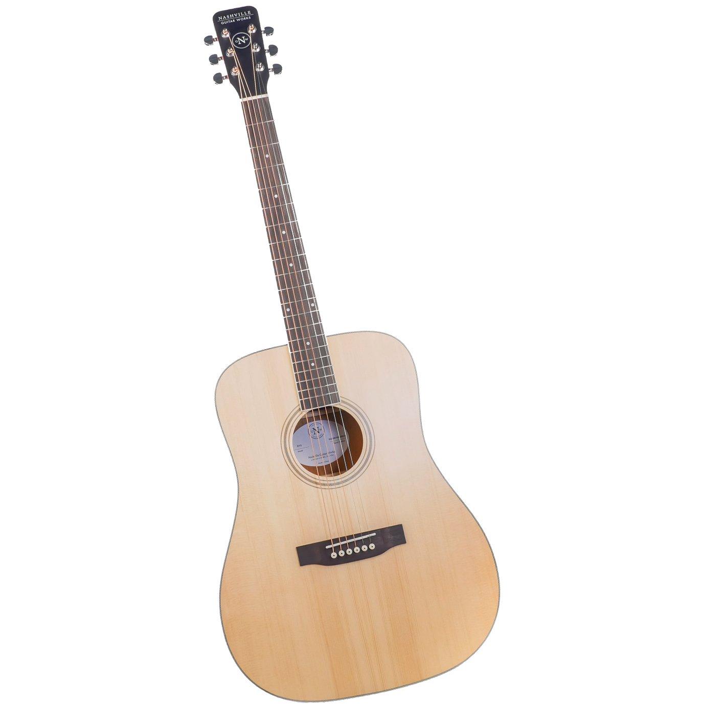 Nashville Guitar Works D10 Acoustic Guitar
